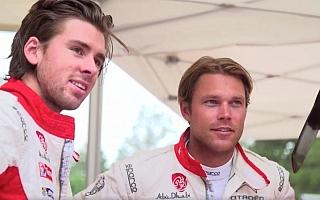 シトロエン、アンドレアス・ミケルセンのC3 WRC初テスト動画を公開
