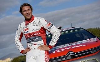 WRCイタリア:ミケルセン「トップドライバーとの戦いに戻れて最高の気分」プレ会見