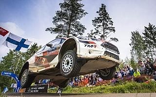 WRCフィンランド:勝田貴元、新井大輝はともに完走果たせず