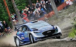 WRCフィンランド:オープニングSSはタナックが制す