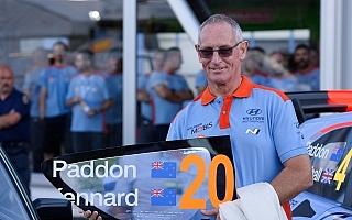 ジョン・ケナード、WRCフィンランドのシェイクダウンでパッドンとのラストラン