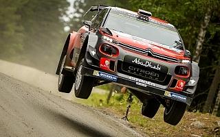 WRCフィンランド:シェイクダウンはミークがトップタイム