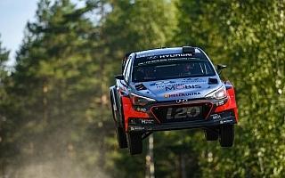 ヒュンダイ、WRCフィンランドでの初ポディウムを狙う