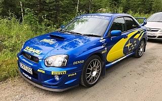 インプレッサWRC2004レプリカ発見! ニャオキ&イヌスケのホゲホゲWRC日記@フィンランド