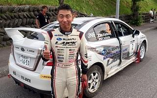 全日本ラリー洞爺デイ1速報:コースオフ続出の荒れた展開、勝田がトップに立つ