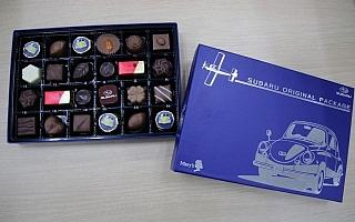 SUBARU、オリジナルパッケージチョコレートを10月より販売再開