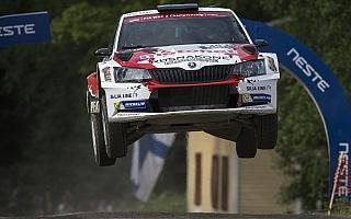 WRCフィンランド:WRC2部門はフッツネンが快走、新井は5位