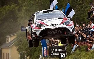 WRCフィンランド:3日目もラッピがリード、途中首位のラトバラはリタイア