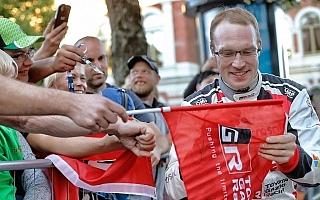 WRCフィンランド:ラトバラ「あのマシンがフィンランドで作られたことに皆が喜んでいる」プレ会見