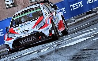 WRCフィンランド:トヨタ勢は初日を順調な滑り出し、ファウラー「明日からの高速ステージに自信」