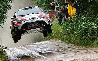 WRCポーランド:競技2日目を終えてヤリスWRCのラトバラが総合3位、ラッピはリタイア