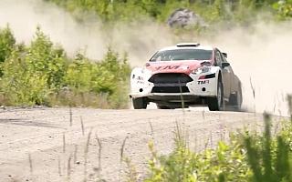WRCフィンランドに挑む勝田貴元と新井大輝、テスト動画を公開