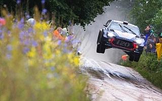 WRCポーランド:競技2日目はヒュンダイのヌービルがリード