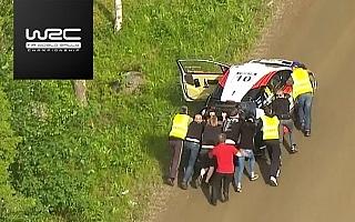 WRCフィンランド:ラトバラ悲運のリタイア、波乱のデイ3動画