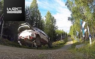 地元フィンランド勢がトップ3独占、WRCデイ2動画