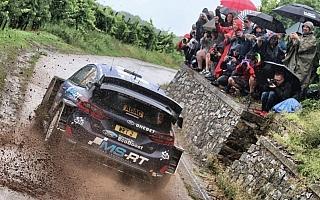 WRCドイツ:競技2日目を終えてMスポーツのタナックがリード