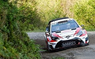 WRCドイツ:特殊な路面のターマックラリーに3台のヤリスWRCが挑む