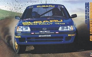 ハセガワ、スバルのWRC初優勝を達成したレガシィRSのプラモデルを限定発売