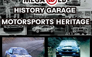 メガウェブ、マクレーがドライブしたスバルのラリーカー2台を展示