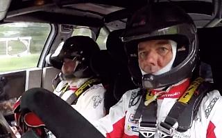 ローブがシトロエンC3 WRCをテスト