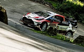 WRCドイツ:デイ3を終えてハンニネンが5位浮上、大会最長SSでベストタイム