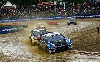 世界RXフランス:クリストファーソンが4連勝、ローブは母国戦2位