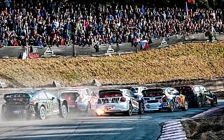 世界RXドイツ:エリクソンが勝利を決めた1コーナー進入、昨年のファイナルを動画で振り返る