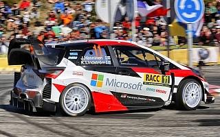WRCスペイン:ハンニネンが総合4位フィニッシュ、ターマックでヤリスの速さを示す