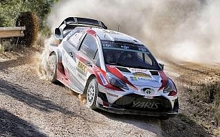 WRCラリーGB:トヨタ、歴史と伝統のグラベルラリーでさらなる性能向上を目指す