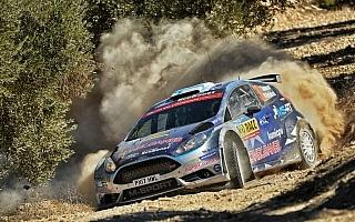 WRCスペイン:WRC2は初日スニネンがトップ。新井は転倒、勝田はデイリタイア