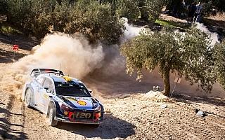 WRCスペイン:初日はヒュンダイのミケルセンが首位発進