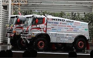 日野チームスガワラ、ダカールラリー2018参戦発表会を開催