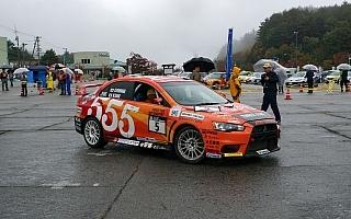 全日本ラリー高山:SS8を終えて福永が首位「まだ僅差、ベストを尽くす」