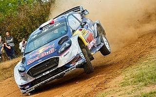 WRCスペイン:シェイクダウンはオジエがトップタイム