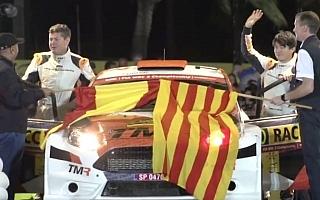 WRCスペイン:新井大輝がWRC2部門プレ会見に出席「ミックス路面を存分に楽しみたい」