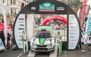 WRCラリーGB:WRC2はティデマンドが圧倒的な強さで完全優勝