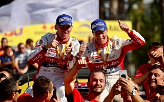 WRCスペイン:ミーク「鍵になったのは金曜日」ポスト会見