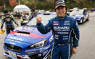 全日本ラリー高山【速報】新井敏弘、最終SSの大逆転でシーズン3勝目