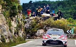 WRCスペイン:ターマックのデイ2でトヨタ躍進、ハンニネン4位 ラッピ6位に浮上