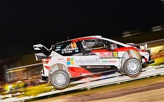 WRCラリーGB:SS1でラトバラが2番手タイム「トップ3以内でフィニッシュしたい」