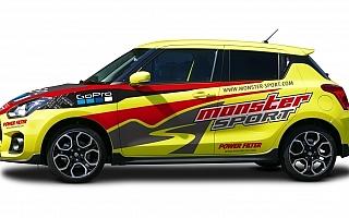 モンスタースポーツ、新型スイフトスポーツのコンプリートカーを受注開始。競技仕様も設定