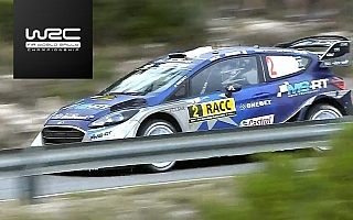 WRCスペイン:SS12で大波乱、ミーク首位浮上のデイ2動画まとめ