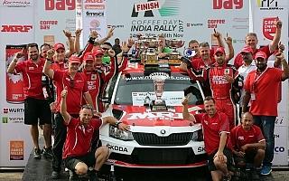 APRCインド:ギルが母国優勝で3度目のタイトルを獲得