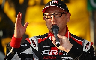 トヨタWRCチーム総代表 豊田章男「まだ我々には足りない何かがあるのだと思う」