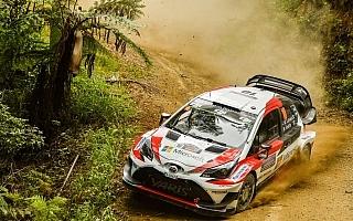 WRC復帰初年度の最終戦に挑むトヨタ勢、ラトバラがシェイクダウン4番手タイムを記録