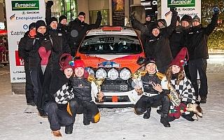 フィンランドラリー選手権第1戦で勝田貴元が3位入賞