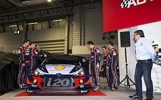 ヒュンダイ、WRCローンチでパッドンとソルドの参戦イベントを発表
