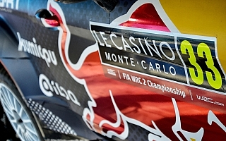 WRCモンテカルロ:WRC2は三つ巴の戦い。ロバンペラ、ベイビーも登場