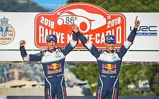 オジエ「今年のモンテは極め付けの厳しさ」WRCモンテカルロ フィニッシュ後コメント集