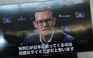 WRC日本招致表明にWRCプロモーターがビデオメッセージ
